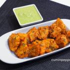 moong dal bhajiya | moong dal fritters