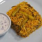 tindora rice | kovakkai rice | ivy gourd rice