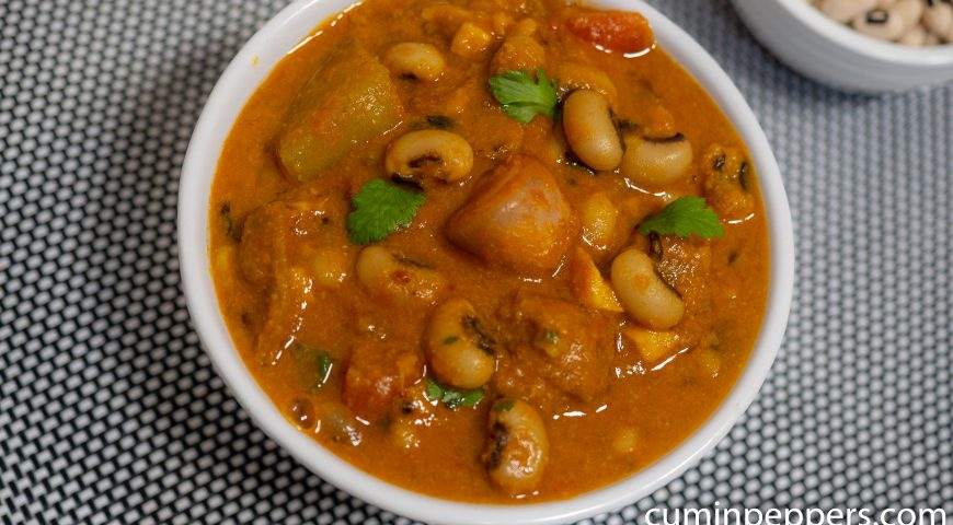veg dish indian | karamani kulambu | Thatta payaru kulambu