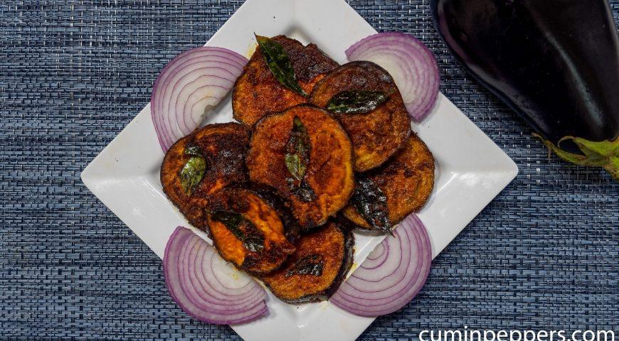brinjal fry | eggplant fry