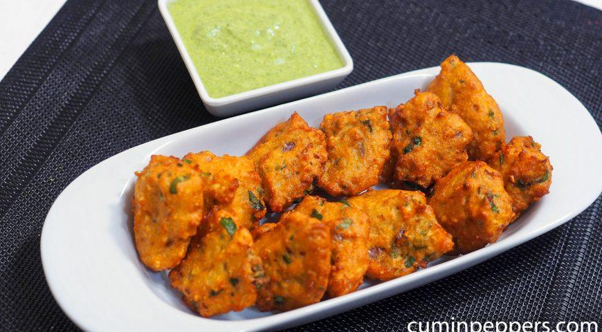 moong dhal bhajiya | moong dhal fritters