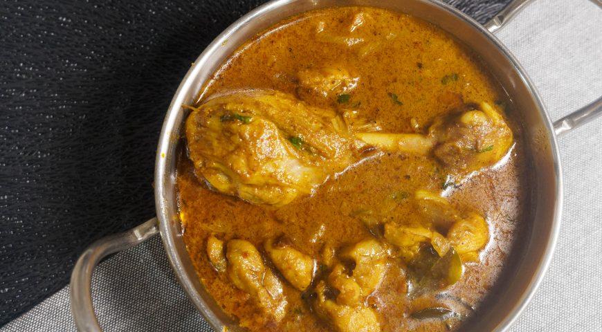 Chicken chettinad