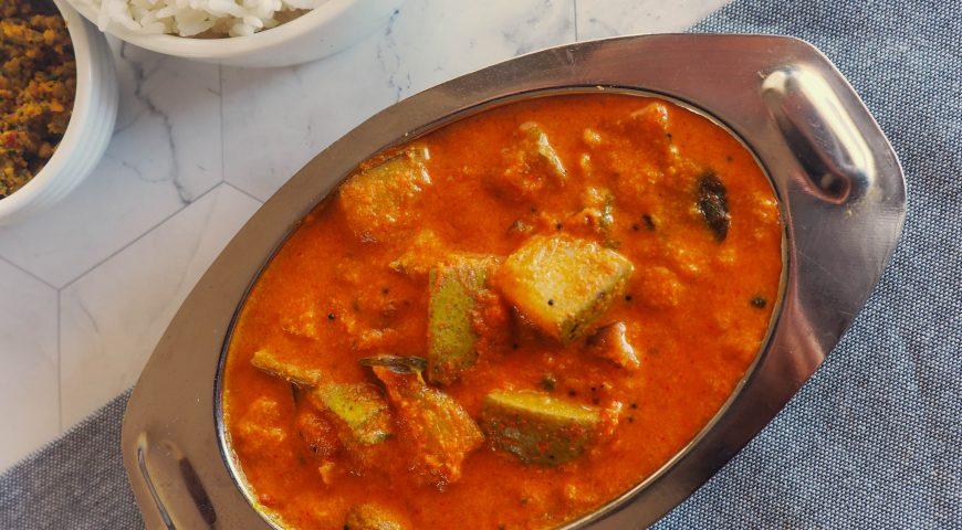tamil food recipes | raw mango kulambu