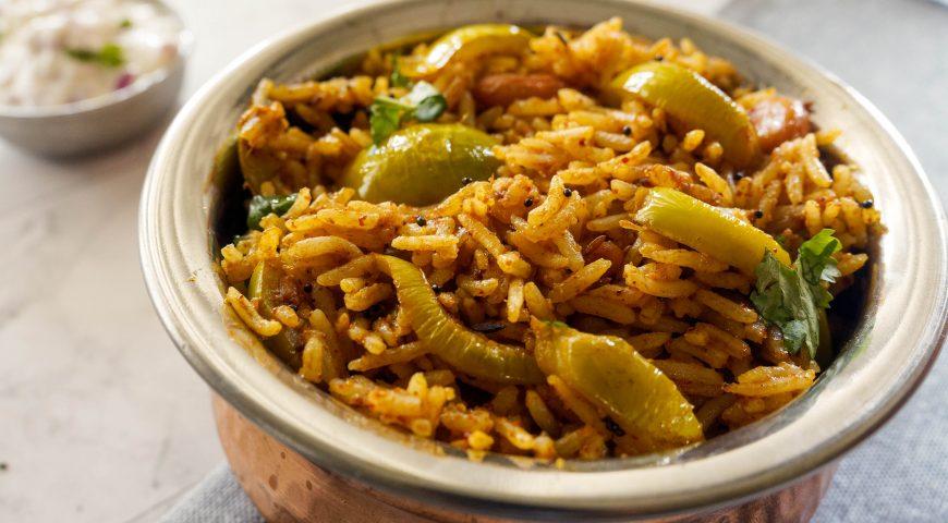 vangi bath recipe | lunch box recipe indian