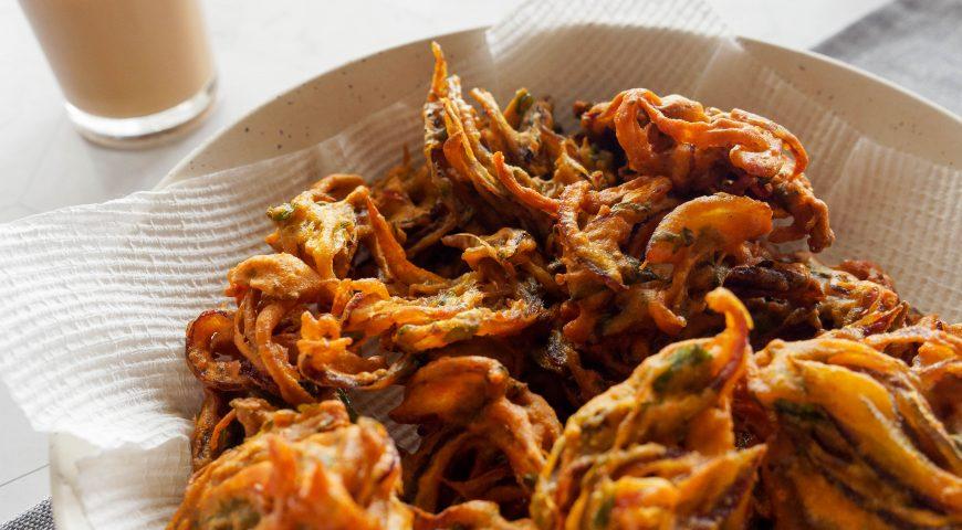 yummy snack recipe | onion pakoda recipe