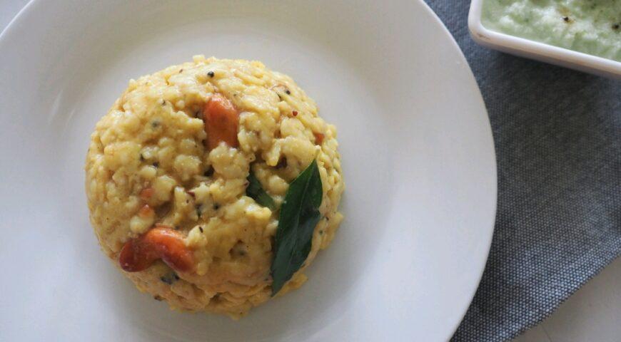 Healthy breakfast recipe | oats pongal recipe